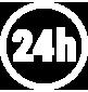 Disponible 24H/24H